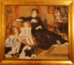 """Renoir """"Pani Charpentier z dziećmi"""""""