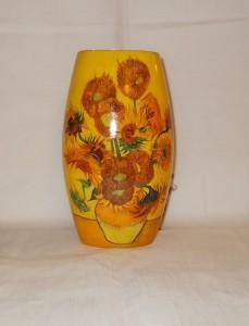 Wazon porcelanowy Słoneczniki
